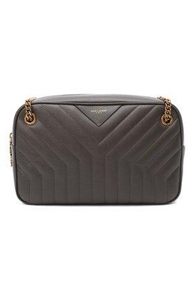 Женская сумка joan SAINT LAURENT темно-серого цвета, арт. 617691/B0WS7 | Фото 1