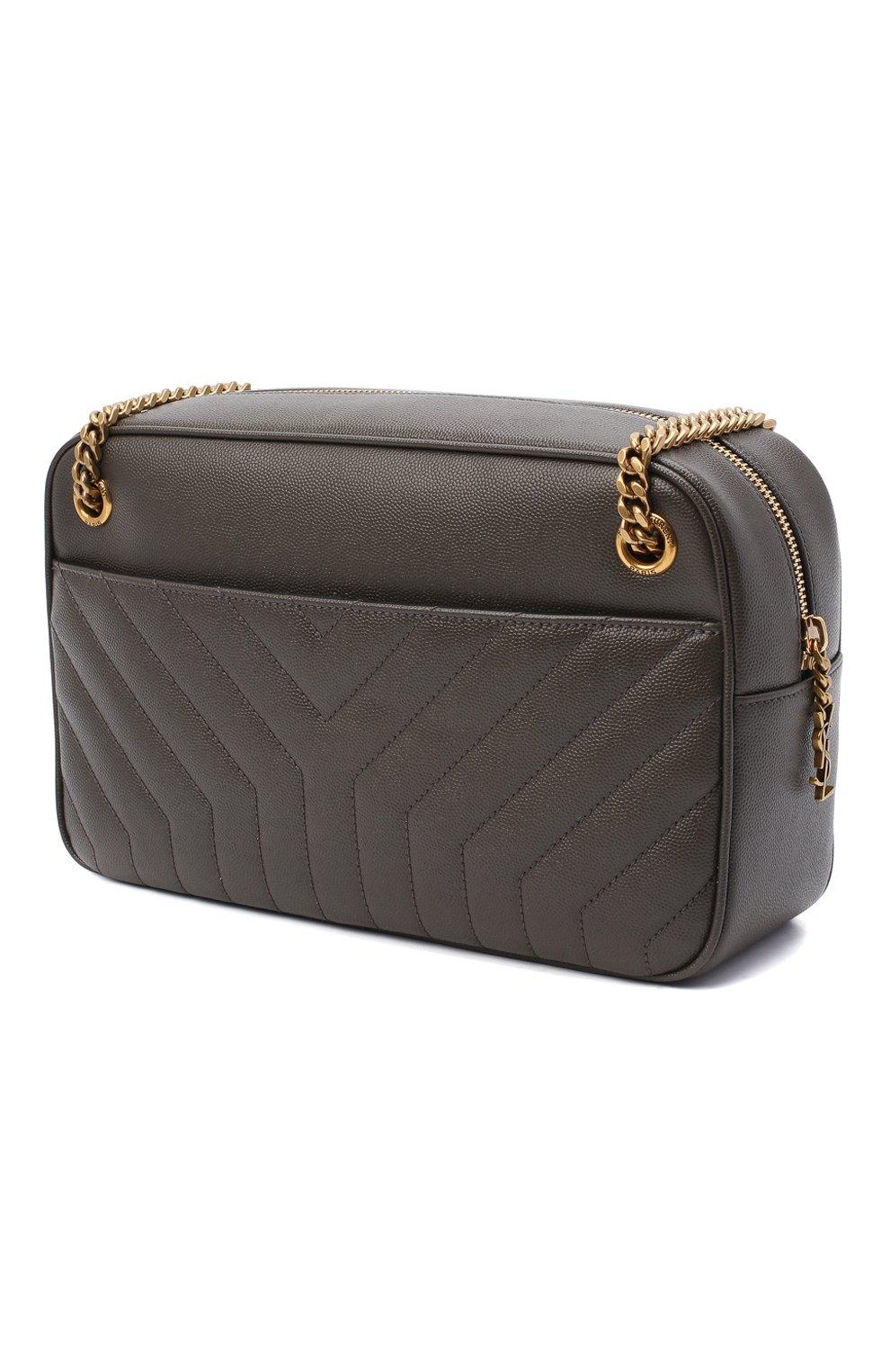 Женская сумка joan SAINT LAURENT темно-серого цвета, арт. 617691/B0WS7 | Фото 3