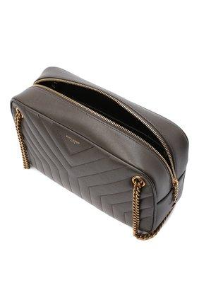 Женская сумка joan SAINT LAURENT темно-серого цвета, арт. 617691/B0WS7 | Фото 4