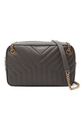Женская сумка joan SAINT LAURENT темно-серого цвета, арт. 617691/B0WS7 | Фото 5