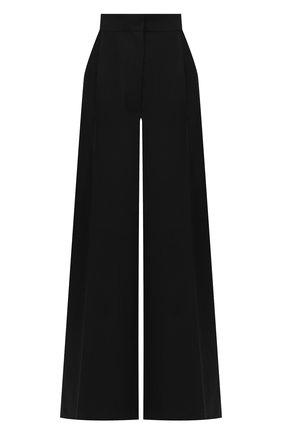 Женские брюки из шерсти и хлопка LOEWE черного цвета, арт. S359331X29 | Фото 1