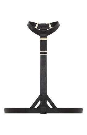 Женские портупея BORDELLE черного цвета, арт. ART DEC0 HARNESS | Фото 1