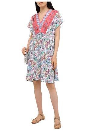 Женское платье из вискозы LISE CHARMEL разноцветного цвета, арт. ASA1538   Фото 2
