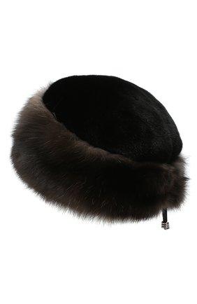 Женская меховая шапка KUSSENKOVV разноцветного цвета, арт. 62803504080   Фото 2