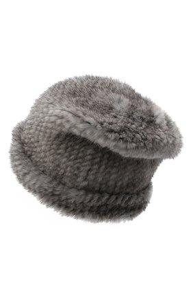 Женский меховая шапка KUSSENKOVV темно-серого цвета, арт. 50650010202 | Фото 2
