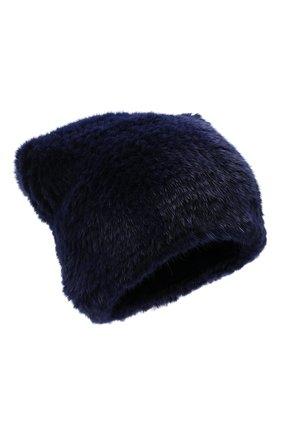 Женский меховая шапка KUSSENKOVV темно-фиолетового цвета, арт. 50150034071   Фото 1