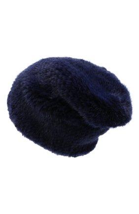 Женский меховая шапка KUSSENKOVV темно-фиолетового цвета, арт. 50150034071   Фото 2