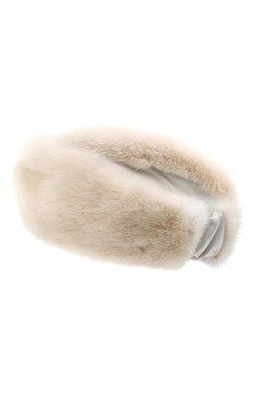 Меховая повязка на голову | Фото №2
