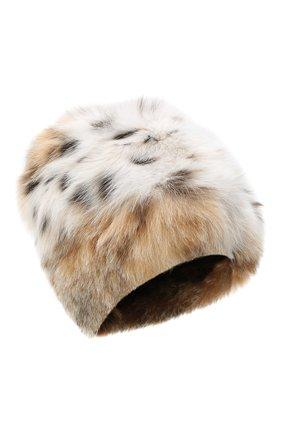 Женский меховая шапка KUSSENKOVV разноцветного цвета, арт. 66000052170 | Фото 1
