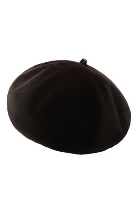 Женский берет из меха норки KUSSENKOVV темно-коричневого цвета, арт. 10210004023   Фото 2