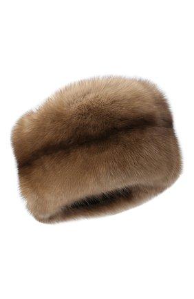 Женский меховая шапка KUSSENKOVV разноцветного цвета, арт. 62003696455 | Фото 1