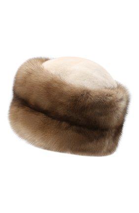 Женский меховая шапка KUSSENKOVV разноцветного цвета, арт. 62003696455 | Фото 2