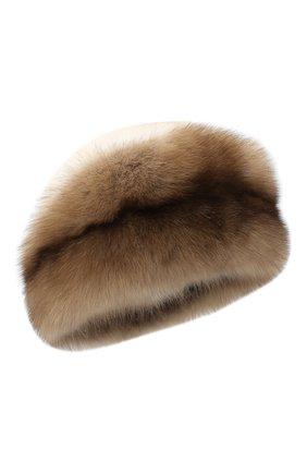 Женская меховая шапка KUSSENKOVV разноцветного цвета, арт. 62003696080   Фото 1