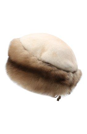 Женская меховая шапка KUSSENKOVV разноцветного цвета, арт. 62003696080   Фото 2