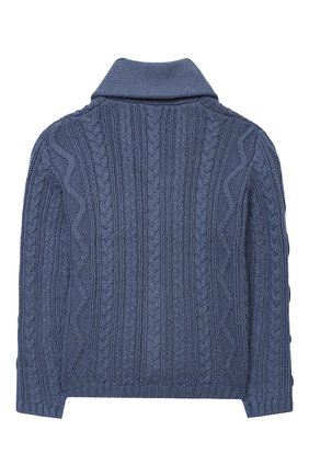 Детский хлопковый кардиган TARTINE ET CHOCOLAT синего цвета, арт. TR18171/18M-3A | Фото 2