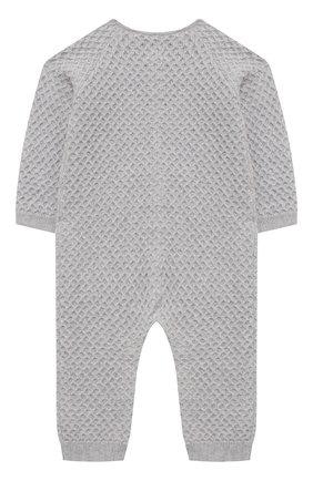 Детский хлопковый комбинезон TARTINE ET CHOCOLAT серого цвета, арт. TR32021/1M-1A | Фото 2