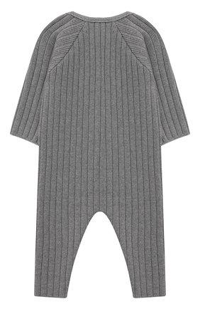 Детский хлопковый комбинезон TARTINE ET CHOCOLAT серого цвета, арт. TR32081/1M-1A | Фото 2