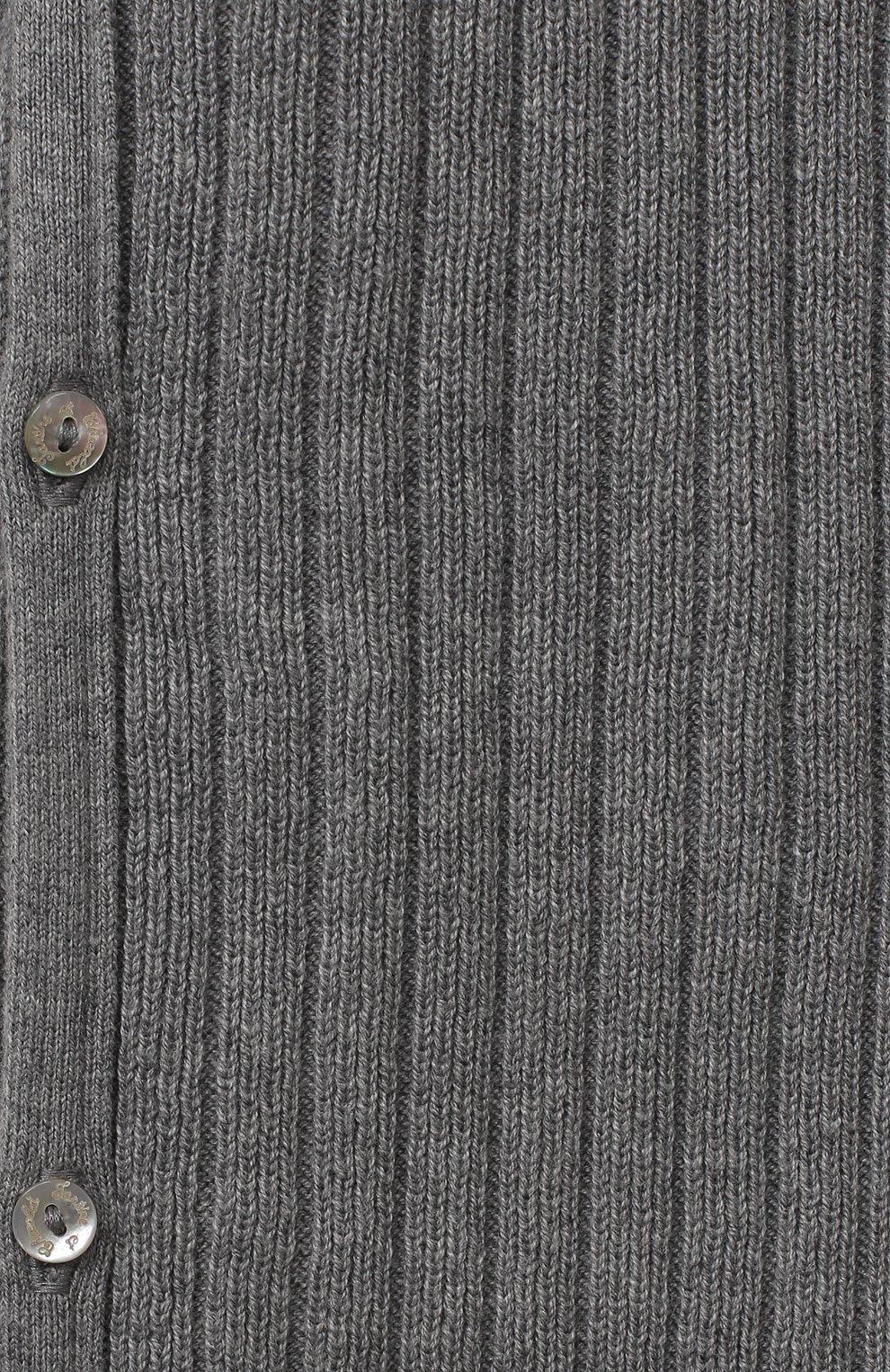 Детский хлопковый комбинезон TARTINE ET CHOCOLAT серого цвета, арт. TR32081/1M-1A   Фото 3