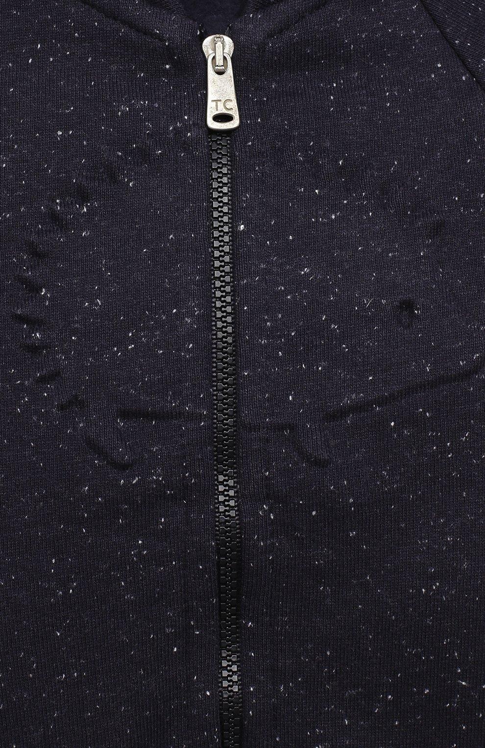 Детский комплект из толстовки и брюк TARTINE ET CHOCOLAT темно-синего цвета, арт. TR35001/1M-1A | Фото 6