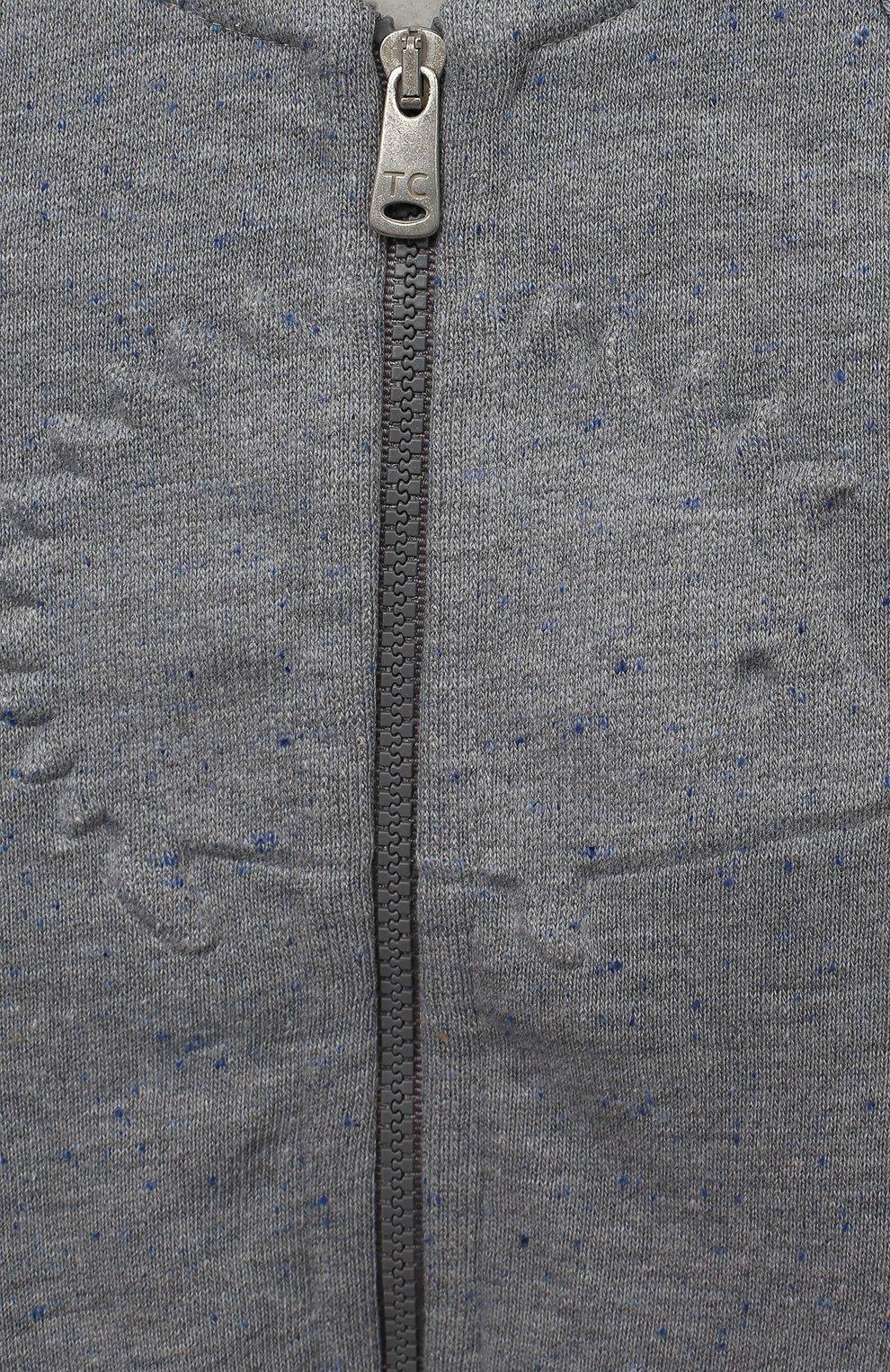 Детский комплект из толстовки и брюк TARTINE ET CHOCOLAT серого цвета, арт. TR35001/1M-1A | Фото 6