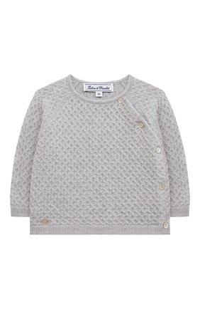 Детский комплект из пуловера и брюк TARTINE ET CHOCOLAT серого цвета, арт. TR36011/1M-1A | Фото 2
