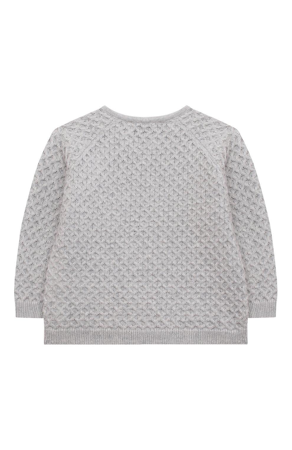 Детский комплект из пуловера и брюк TARTINE ET CHOCOLAT серого цвета, арт. TR36011/1M-1A   Фото 3