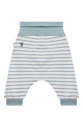 Детские хлопковые брюки SANETTA белого цвета, арт. 10109 | Фото 2