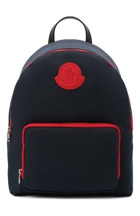 Детская рюкзак MONCLER темно-синего цвета, арт. F2-954-5A701-00-549ZM   Фото 1 (Материал: Текстиль)