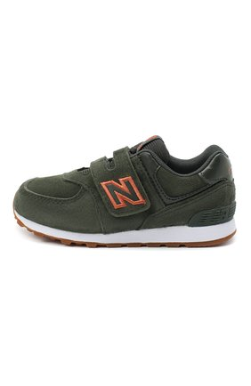 Детские кроссовки 574 NEW BALANCE темно-зеленого цвета, арт. IV574PGO/M   Фото 2