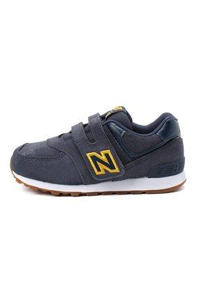 Детские кроссовки 574 NEW BALANCE синего цвета, арт. IV574PNY/M   Фото 2