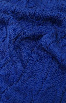Детский шерстяной шарф MONCLER синего цвета, арт. F2-954-3C700-20-04S02 | Фото 2