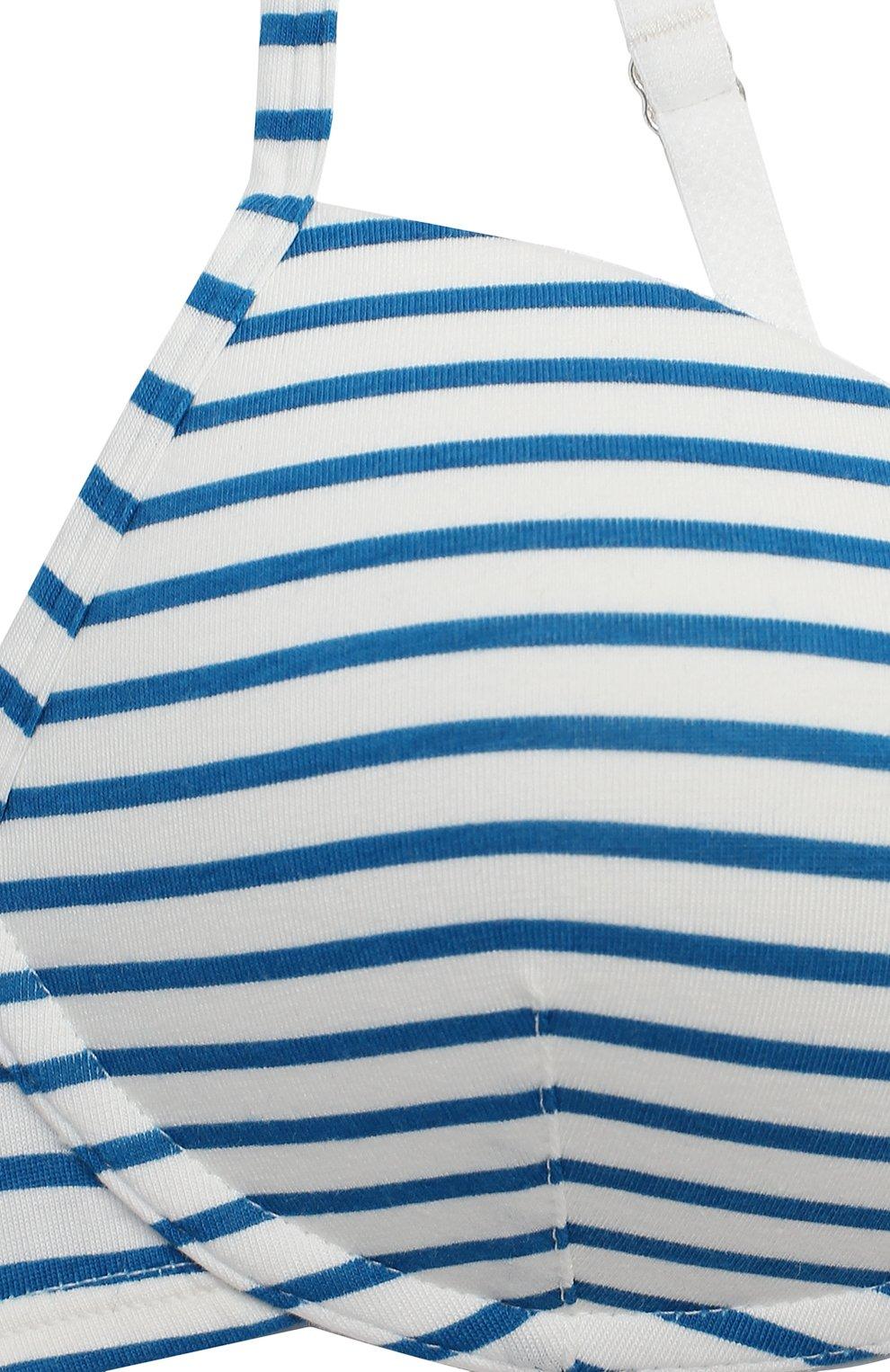 Детский бюстгалтер SANETTA синего цвета, арт. 346359 | Фото 3