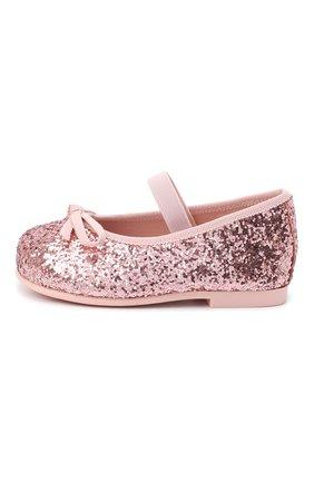 Детские балетки PRETTY BALLERINAS розового цвета, арт. 40.569/KYLIE | Фото 2