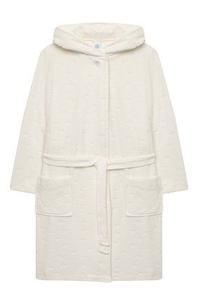 Детский халат SANETTA белого цвета, арт. 244636. | Фото 1