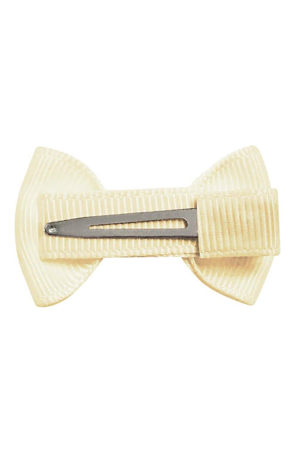 Детская заколка-зажим bowtie bow MILLEDEUX бежевого цвета, арт. 810-CGC-19 | Фото 2