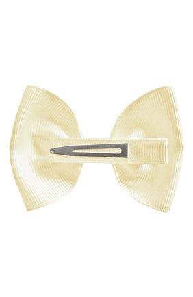 Детская заколка-зажим bowtie bow MILLEDEUX бежевого цвета, арт. 810-GLGC-02 | Фото 2