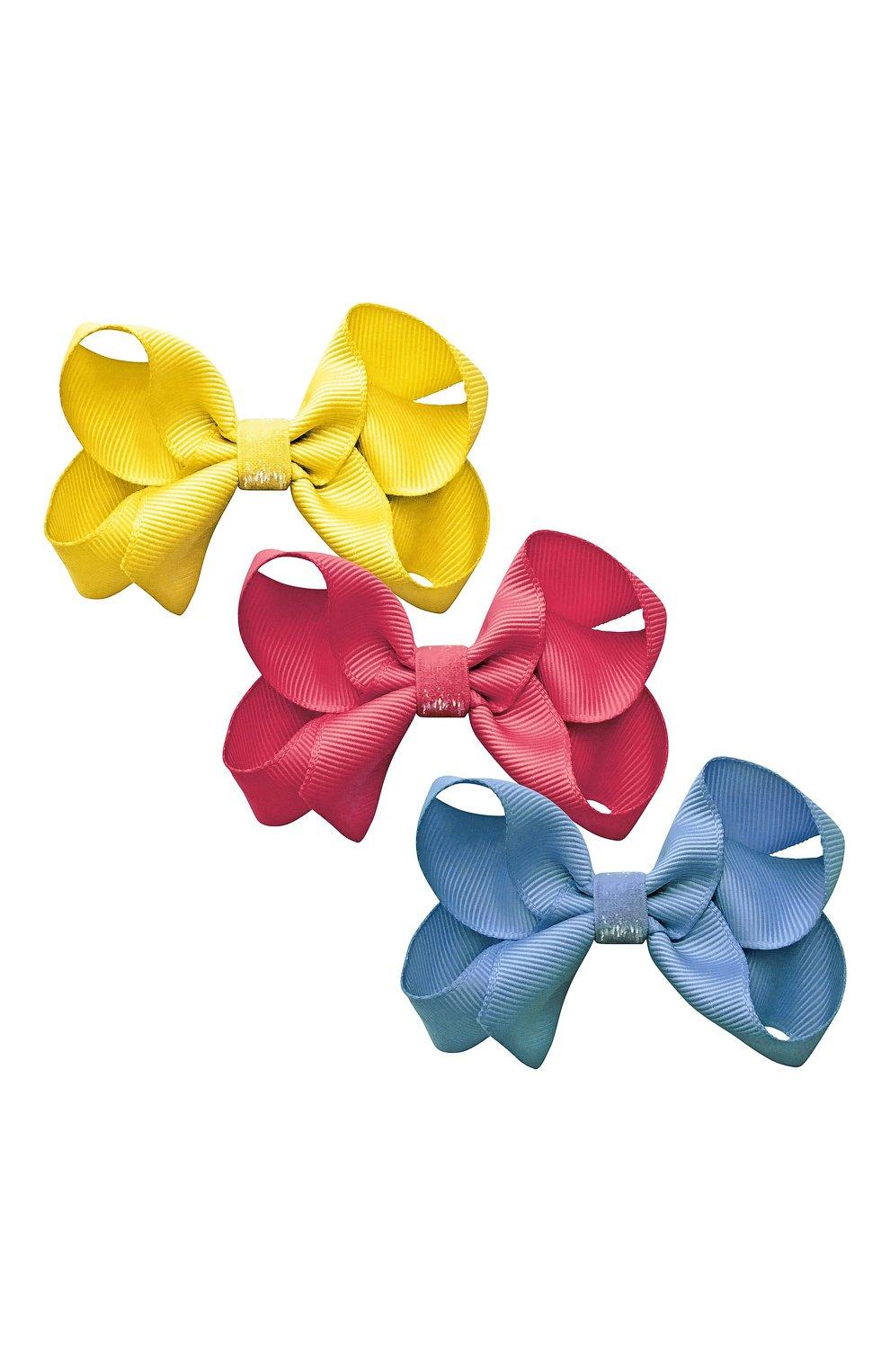 Детская комплект из трех заколок MILLEDEUX разноцветного цвета, арт. A36 | Фото 1