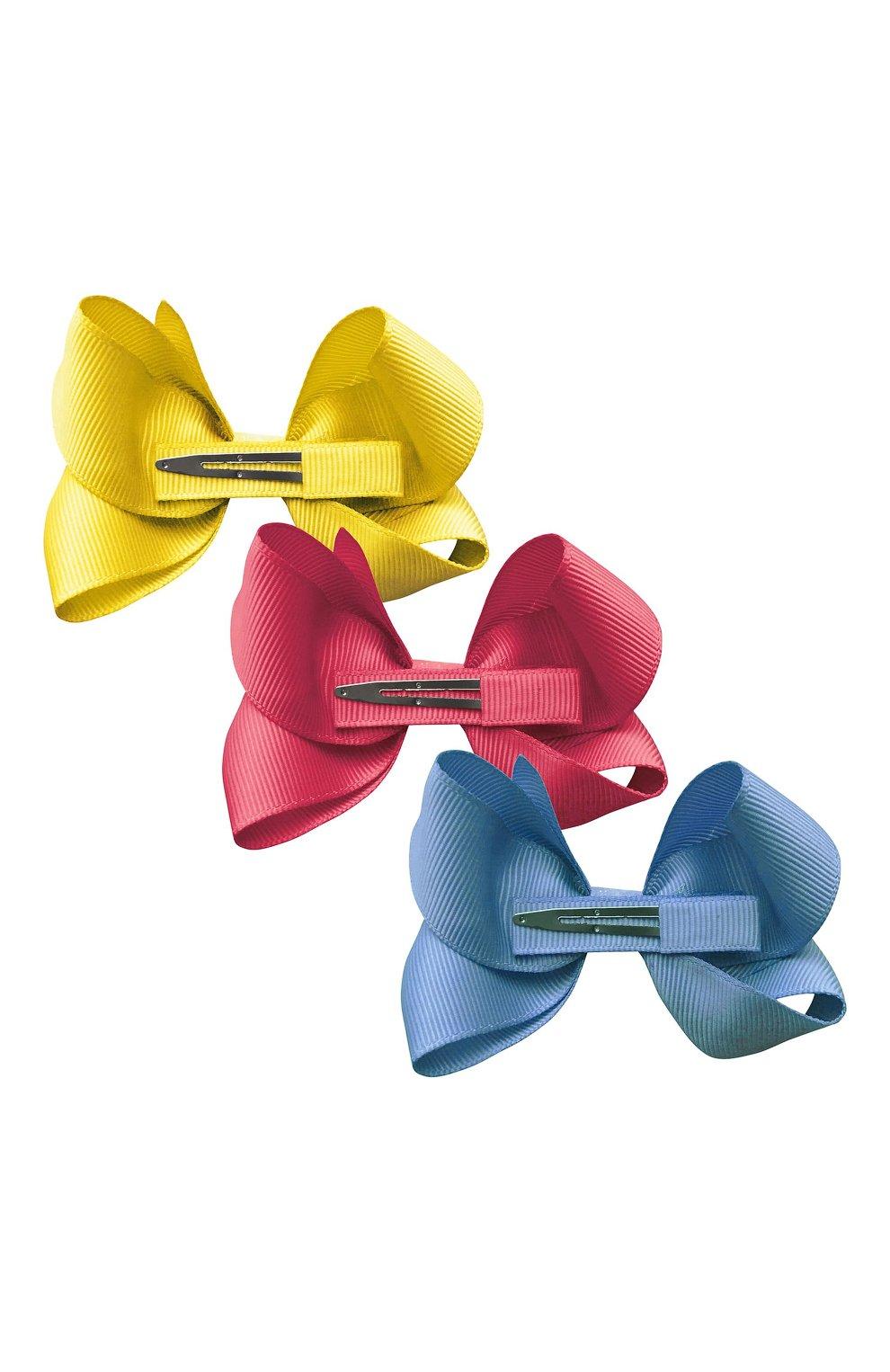 Детская комплект из трех заколок MILLEDEUX разноцветного цвета, арт. A36 | Фото 2