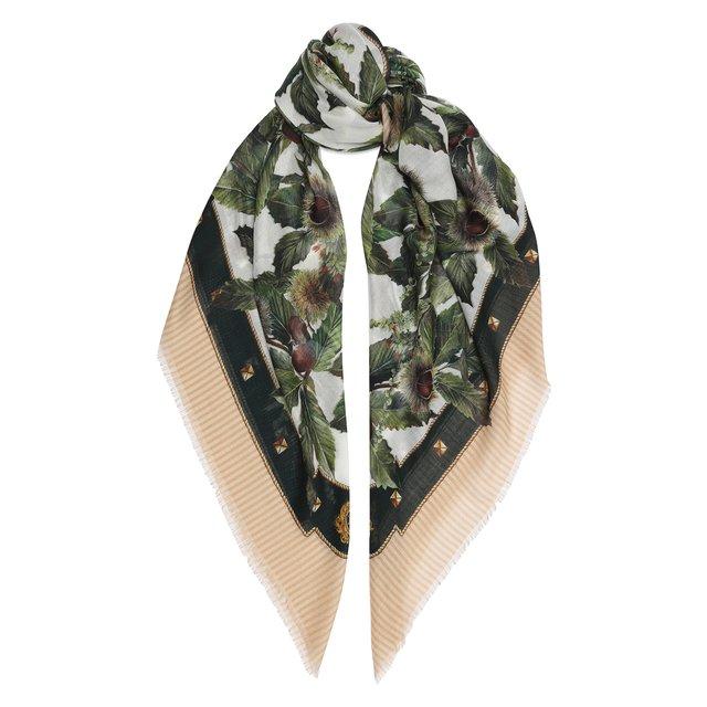 Платок из кашемира и шелка Dolce & Gabbana