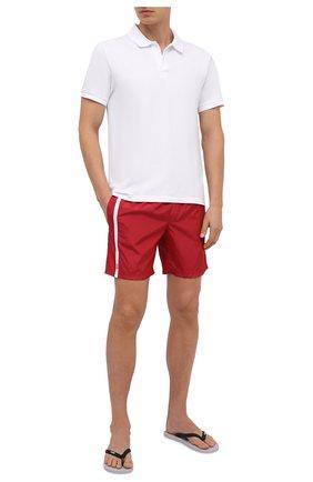 Мужские плавки-шорты DOLCE & GABBANA красного цвета, арт. M4A68T/FUSFW   Фото 2