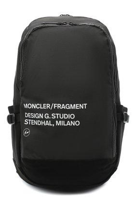 Мужской текстильный рюкзак 7 moncler fragment hiroshi fujiwara MONCLER GENIUS черного цвета, арт. F2-09U-5A700-00-02SLR | Фото 1