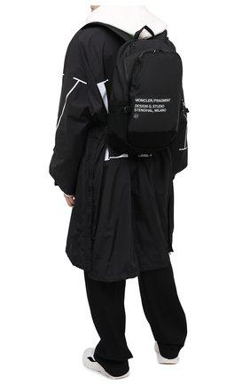Мужской текстильный рюкзак 7 moncler fragment hiroshi fujiwara MONCLER GENIUS черного цвета, арт. F2-09U-5A700-00-02SLR | Фото 2