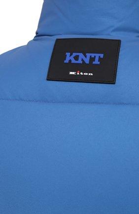Мужской пуховый жилет KNT голубого цвета, арт. UGKN005X03T35   Фото 6