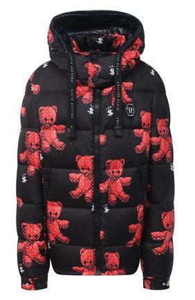Женский куртка PHILIPP PLEIN черного цвета, арт. F20C WRB0840 PNY002N | Фото 1