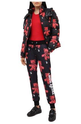 Женский куртка PHILIPP PLEIN черного цвета, арт. F20C WRB0840 PNY002N | Фото 2