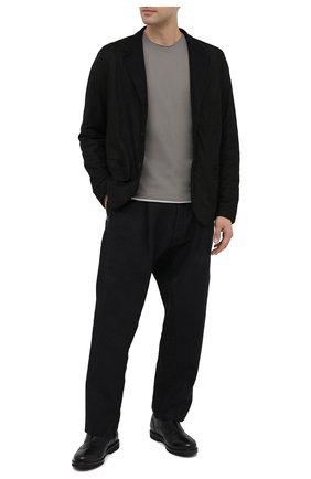 Мужские кожаные оксфорды ROCCO P. черного цвета, арт. 7019/BISH0ND0 | Фото 2