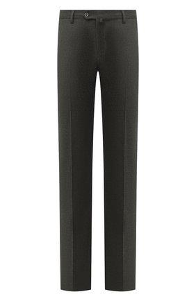 Мужской шерстяные брюки LORO PIANA серого цвета, арт. FAI3433 | Фото 1