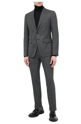 Мужской шерстяной костюм DSQUARED2 темно-серого цвета, арт. S74FT0407/S53032 | Фото 1