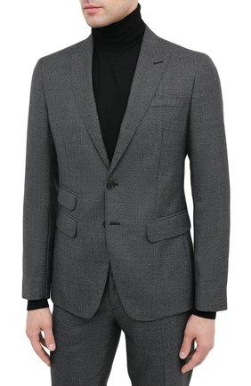 Мужской шерстяной костюм DSQUARED2 темно-серого цвета, арт. S74FT0407/S53032 | Фото 2