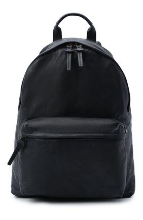 Мужской кожаный рюкзак OFFICINE CREATIVE темно-синего цвета, арт. 0C PACK/R0ME   Фото 1
